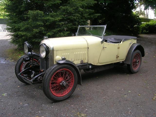 1928 Bentley 3-Litre Speed Model Tourer
