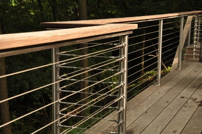 Deck Railing Photo Gallery Stainless Steel Cable Railing