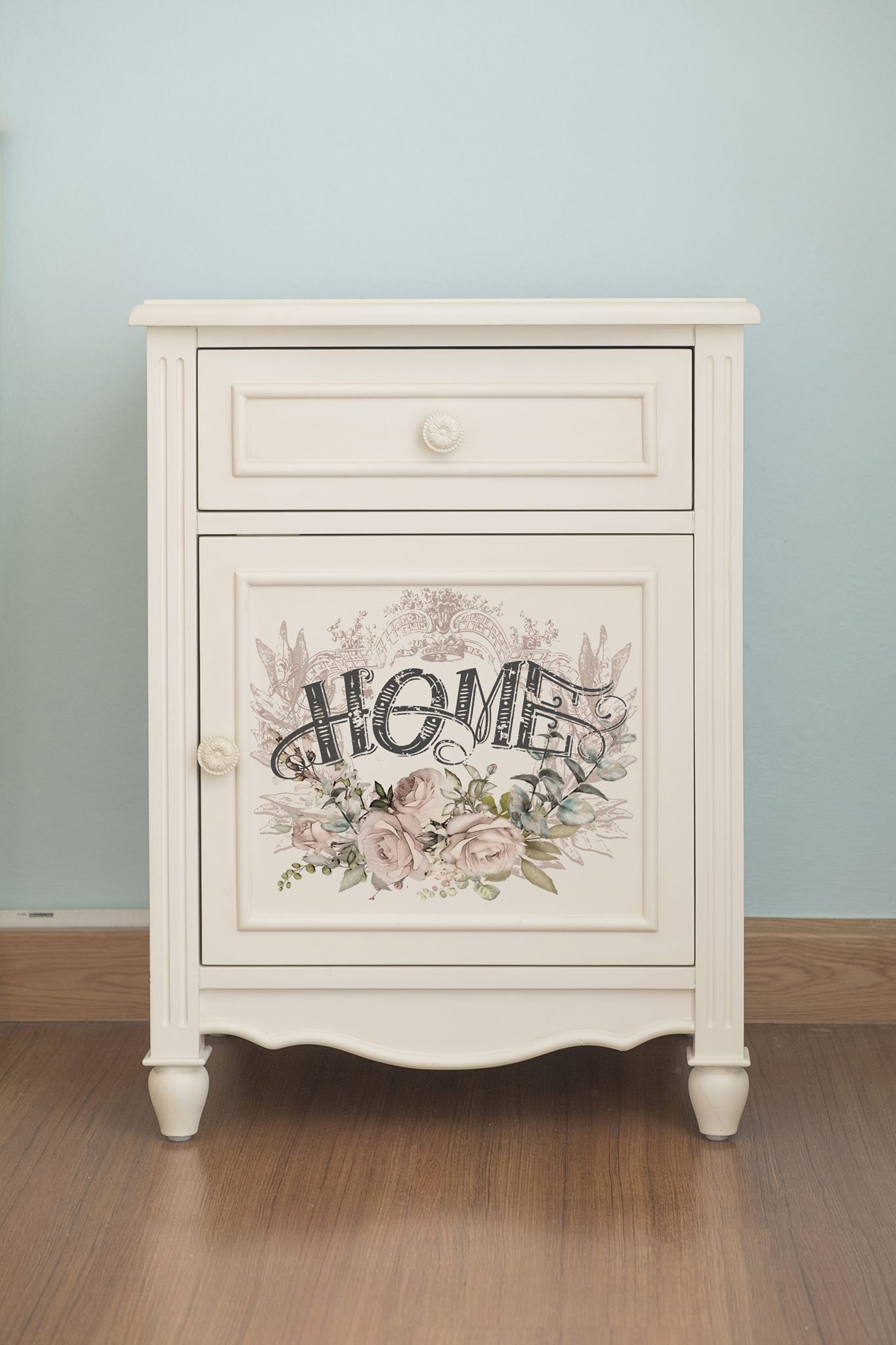 Hand Painted Furniture Shabby Chic Decoupage