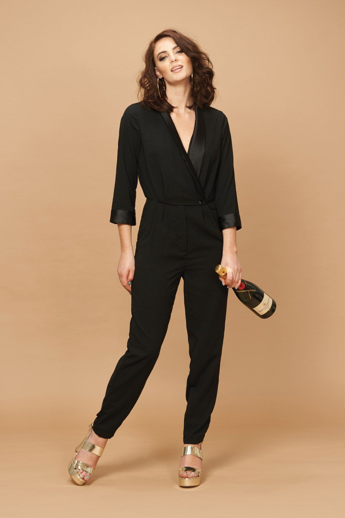 New Years Outfit SORTED with this ANNICA JUMPSUIT - A favourite of Audrey of style blog Frassy. Get it here > http://www.sugarhillboutique.com/xm15/annica-jumpsuit.aspx