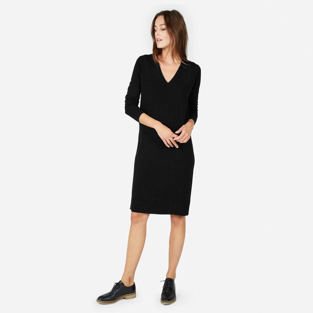 d4117dcabf6 Women s The Cashmere V-Neck Midi Dress