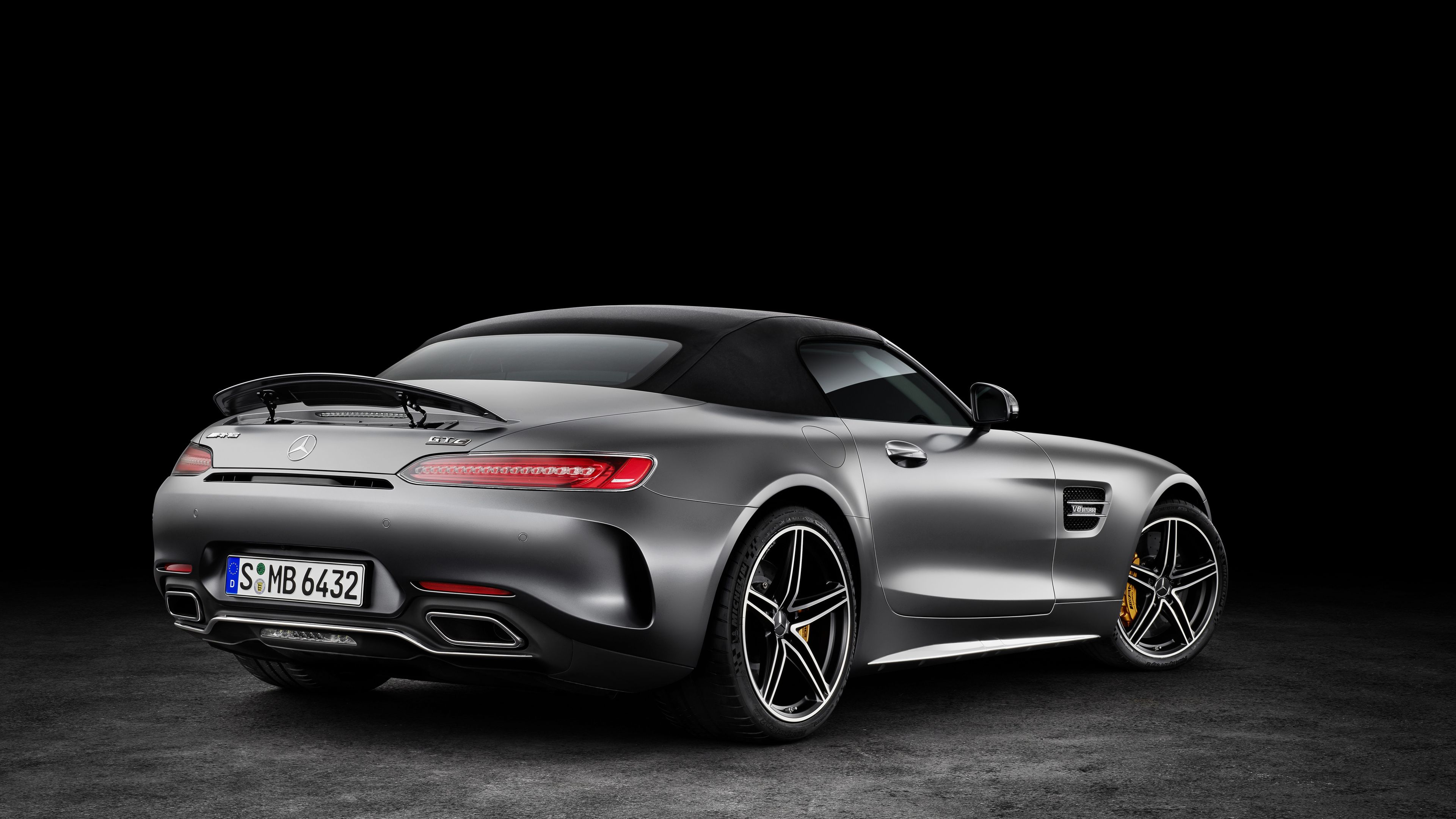 2018 Mercedes Amg Gt C Roadster Mercedes Benz Wallpapers Cars