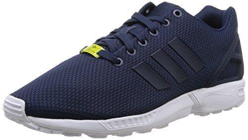 hot sale online 5a88b 5b92b Adidas Zx Flux Scarpe sportive, Uomo, Multicolore (New NavyNew Navy