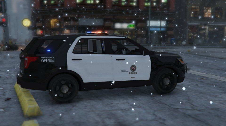 Gta5 Fpiu Lapd Gta5 Mods Pinterest Ford Explorer How To Make