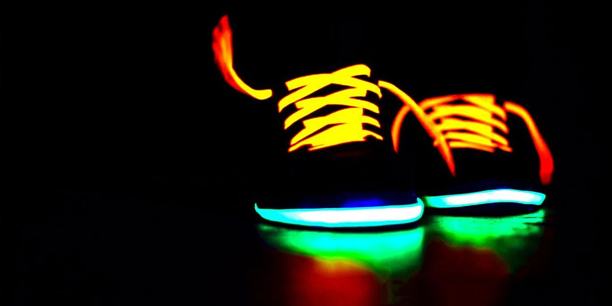 Boots Multicolor | Glow shoes, Twitter cover, Glow in the dark