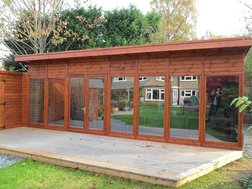 bakers timber buildings - garden rooms & offices - contempory - kite