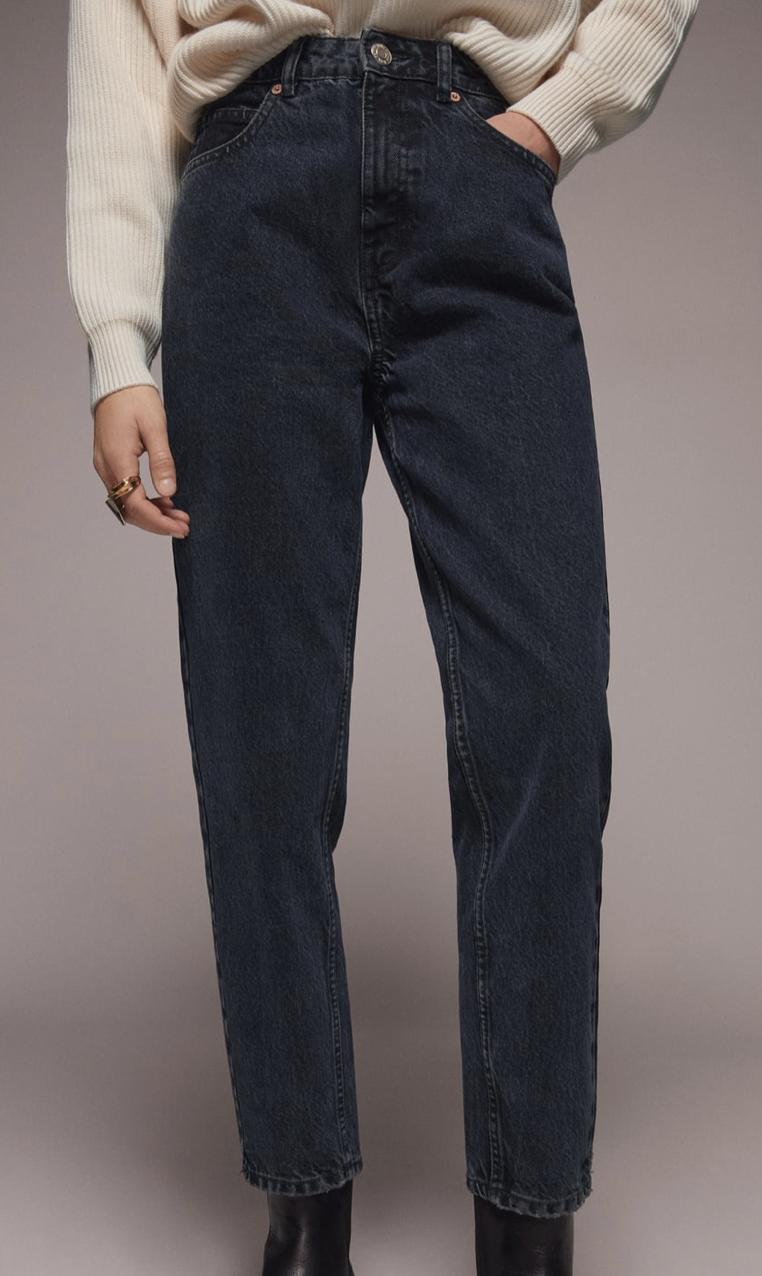 Deep Blue Jeans Zara Jeans Fit Blue Jeans New Wardrobe