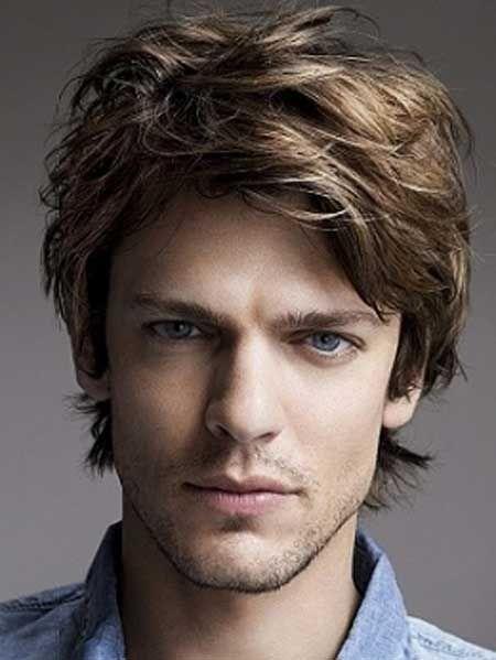Easy Medium Length Hairstyles For Men Boys Haircuts Wavy