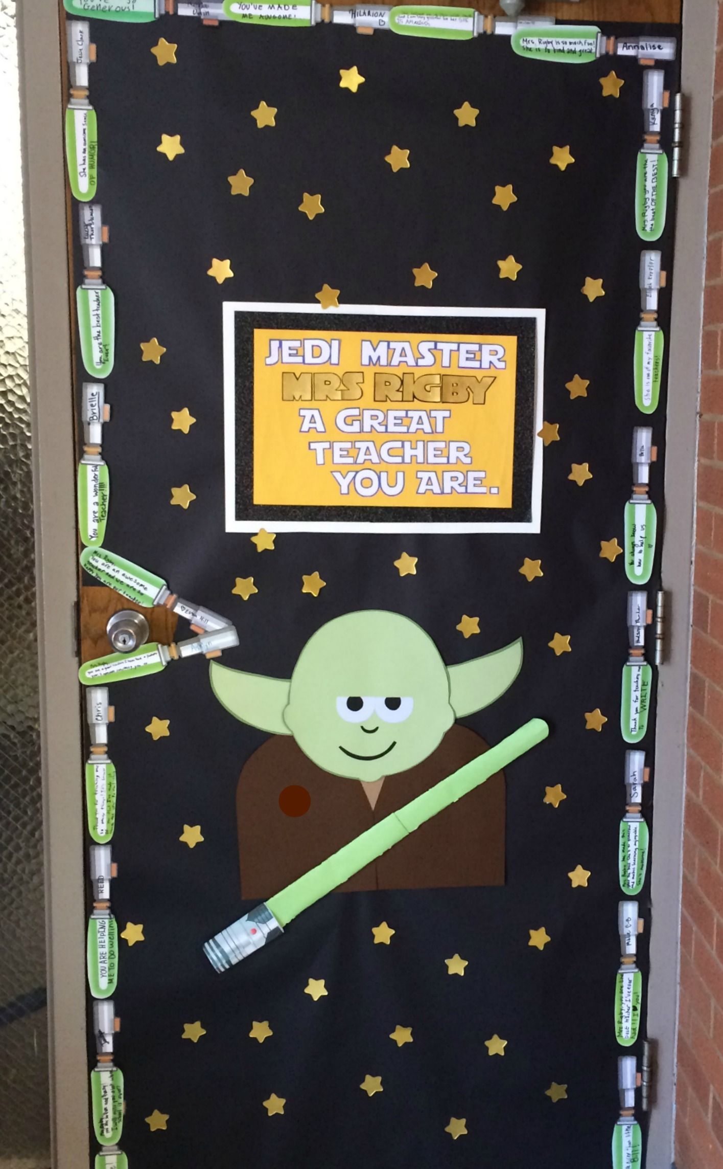 Star Wars Decorations Ideas Teacher Appreciation Door 2016 My Take On The Star Wars