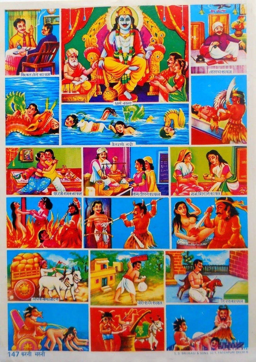 Popular prints  Naraka   VISHNU