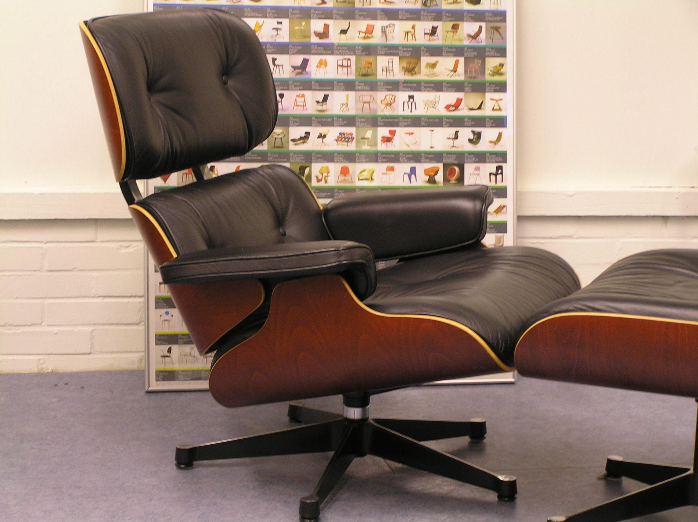 Prachtige Vitra Eames Lounge Chair plus Ottoman. | Einrichtungsideen ...