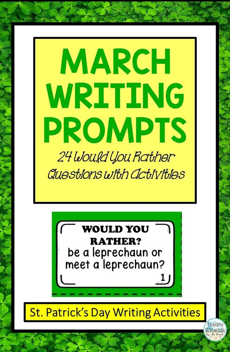 Photo of St. Patrick's Day Writing Prompts