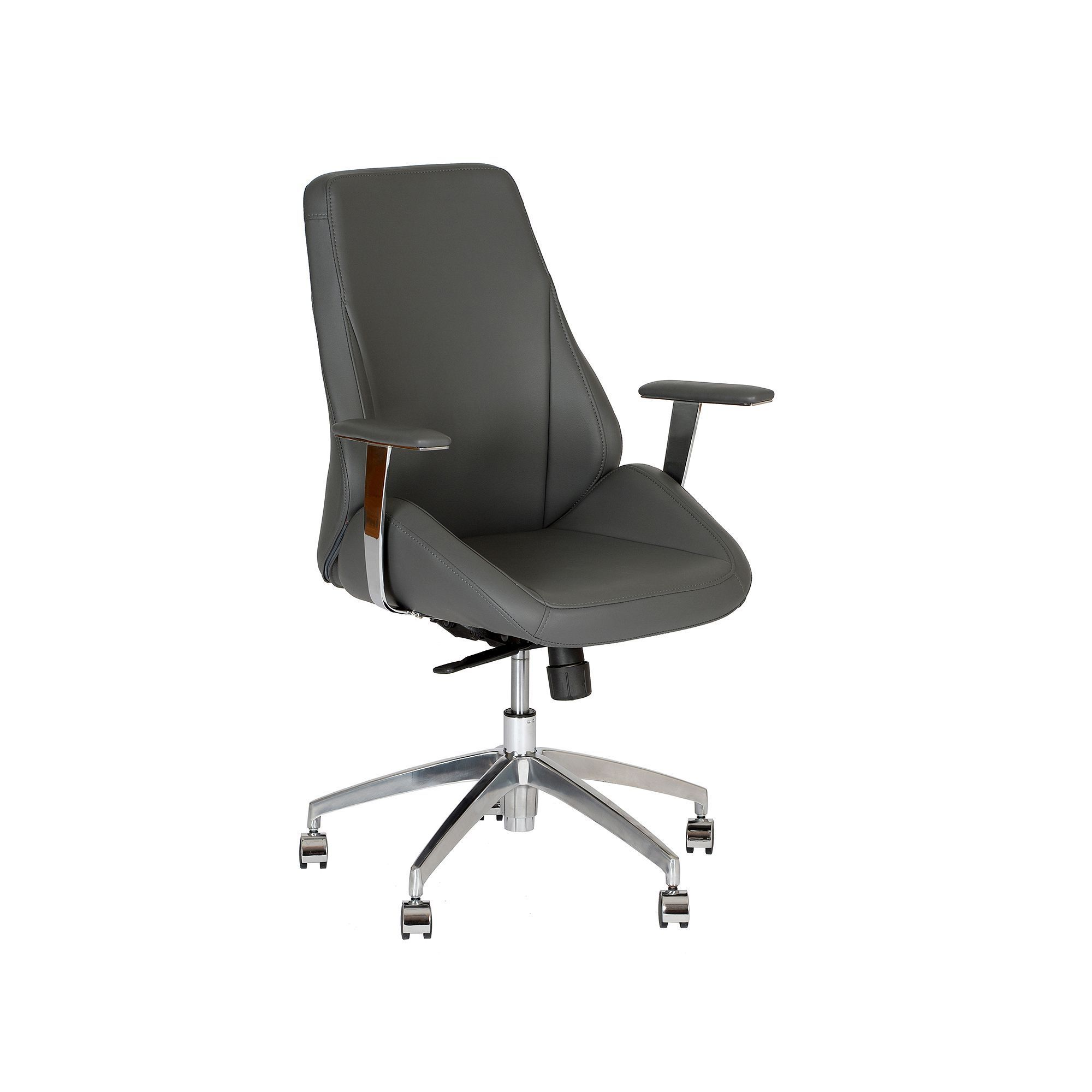Living Argo Office Chair Grey # Muebles Fantoni Mar Del Plata