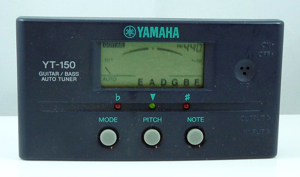Yamaha YT150 Guitar & Bass Auto Tuner (With images