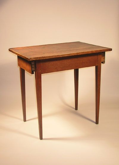 Shaker furniture drawer table history 1 beginning for Shaker furniture