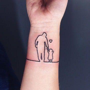 Artisticos Y Singulares Tatuajes De Siluetas De Personas тату