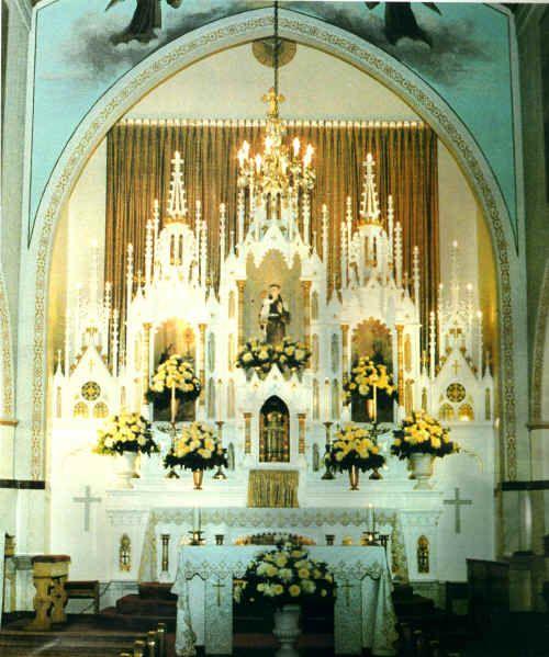 Catholic Wedding Altar Decorations: Beautiful Churche Catholic Church