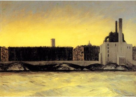 East River, Painting by Edward Hopper   Silver Birch Press