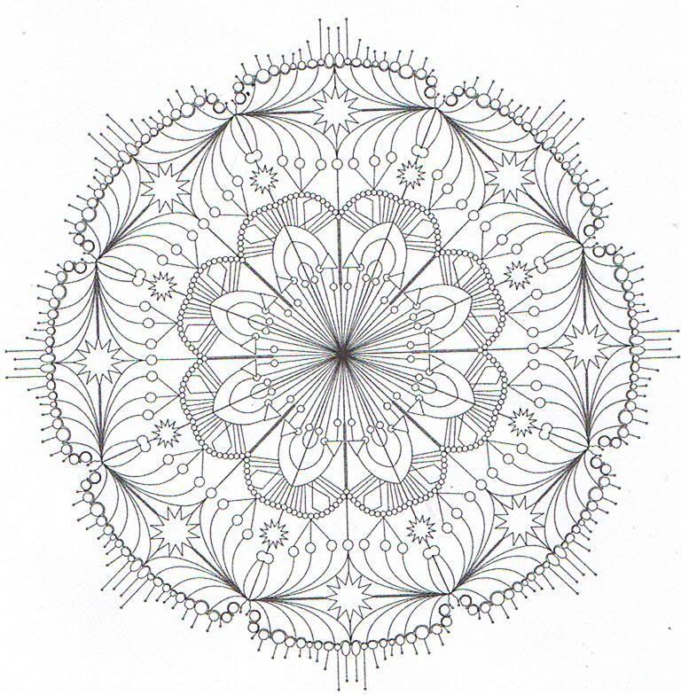 sehr schwierige mandalas zum ausmalen 05 | Malbücher | Pinterest