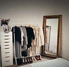 Kleideraufbewahrung Ideen 18 bonitas ideas para hacer más femenina tu habitación