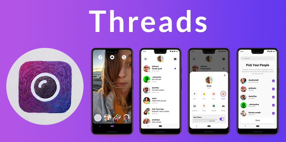 Instagram Launches A New Messaging App For Close Friends Called Threads Messaging App Instagram Apps Thread