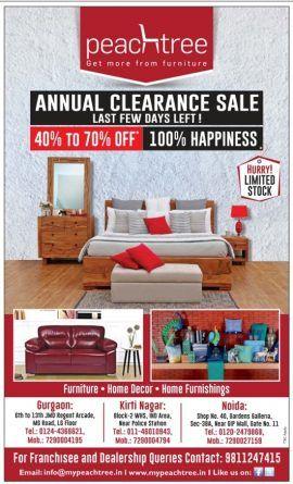 Furniture Sale Ad