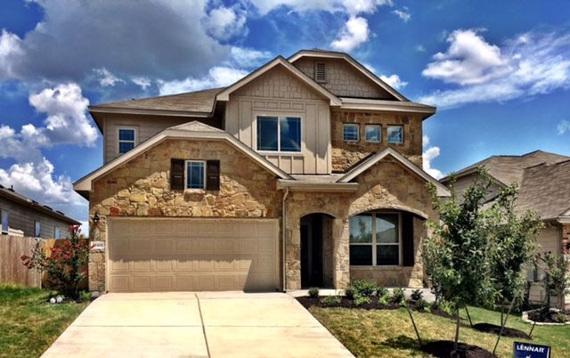 Lennar Austin's beautiful Welcome Home Center in Bradshaw