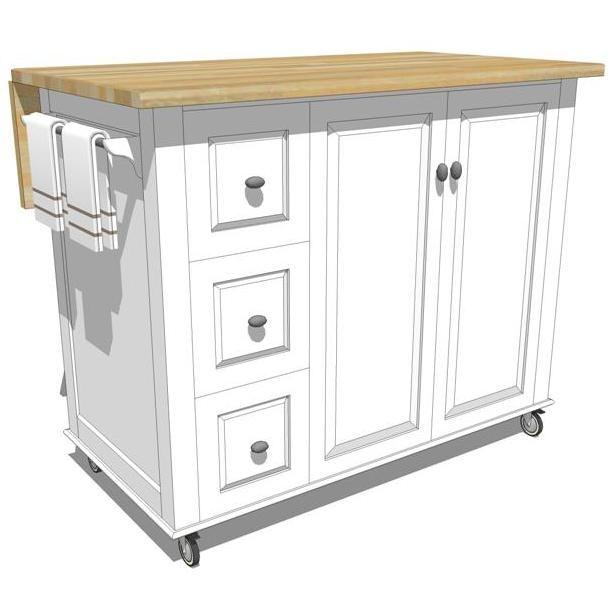Mobile kitchen cabinets. | Mobile kitchen island, Kitchen ...