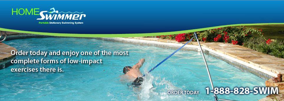 Stationary Swimmer Swim Harness Swim Tether Homeswimmer Com Swimming Workout Swimming Swimmer