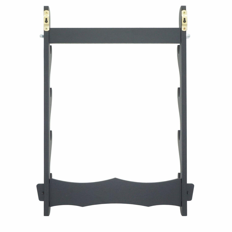 3 Layer Rack Display Assembly Samurai Sword Katana Wakizashi Tanto Holder Stand