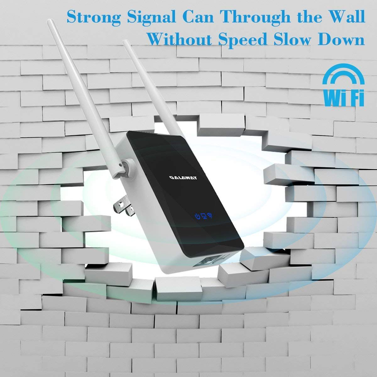 Amazon com: GALAWAY G308 300Mbps WiFi Range Extender with