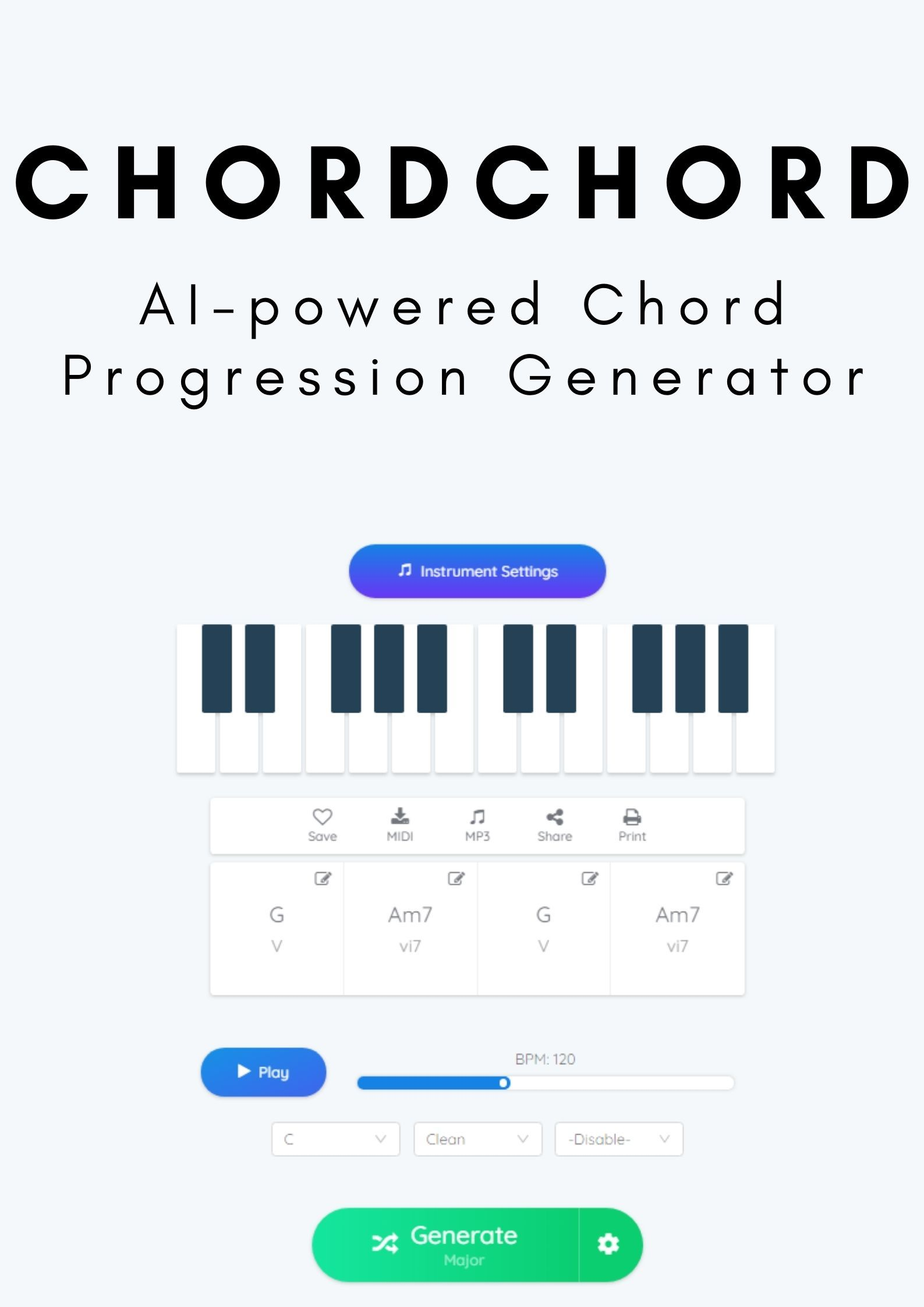 Ai Powered Chord Progression Generator In