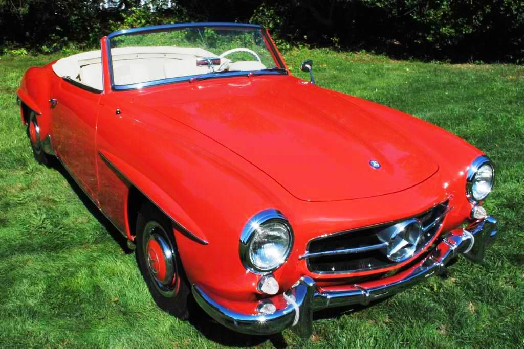 Mercedes-Benz 190SL For Sale at Classic Car Car Trader - Used Autos ...
