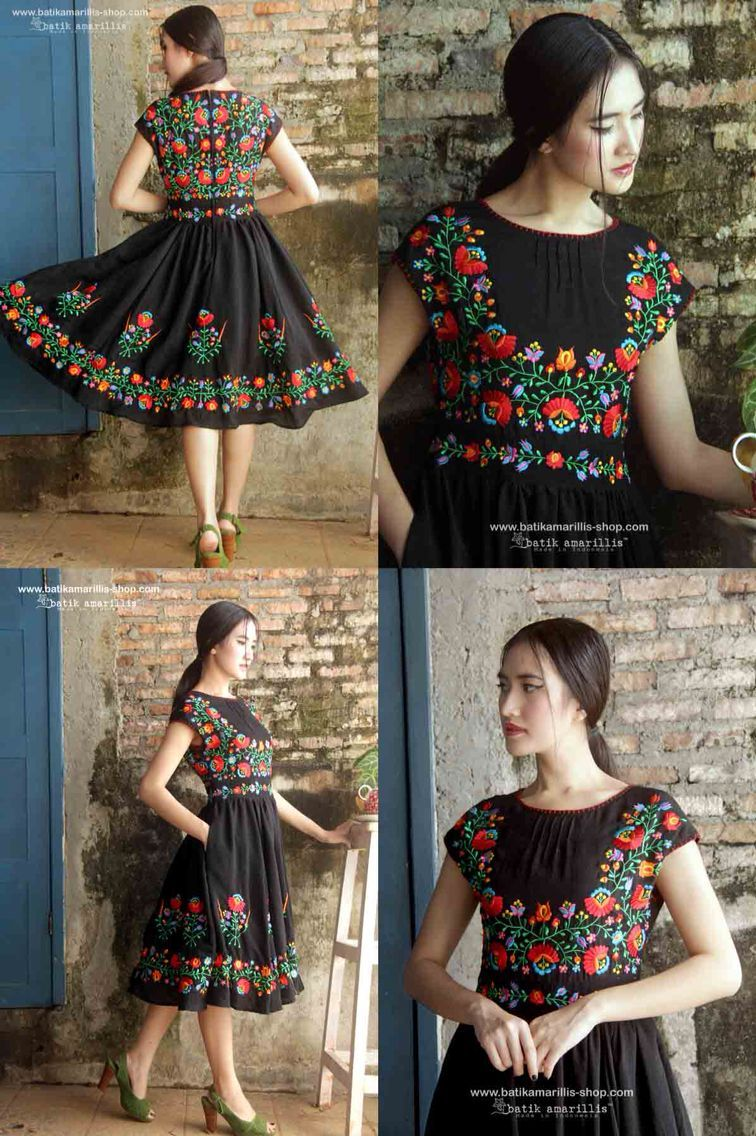 Vestidos Tipicos Mexicano México Asombroso Ropa Bordada