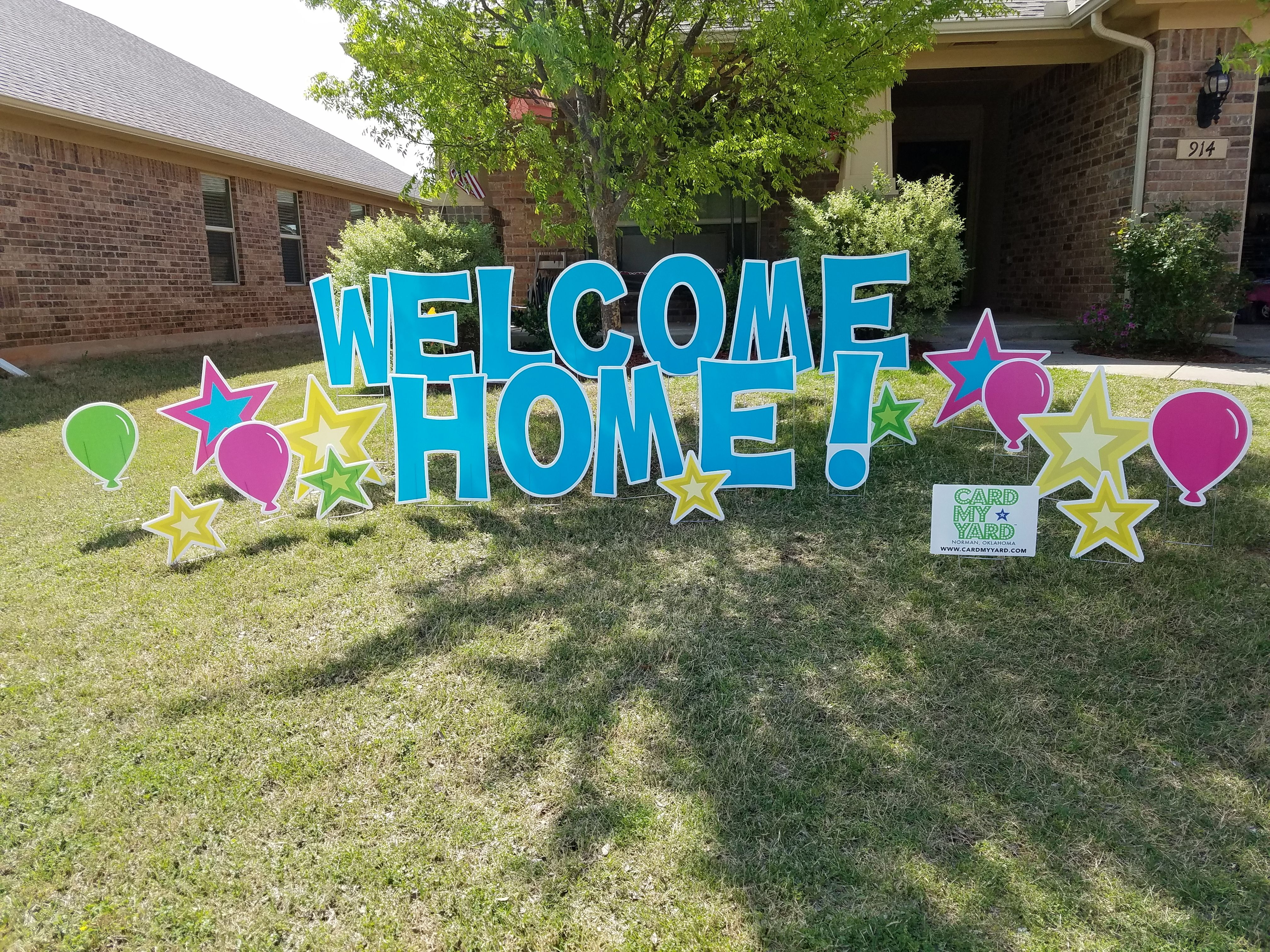 A cute home for parents coming home from the