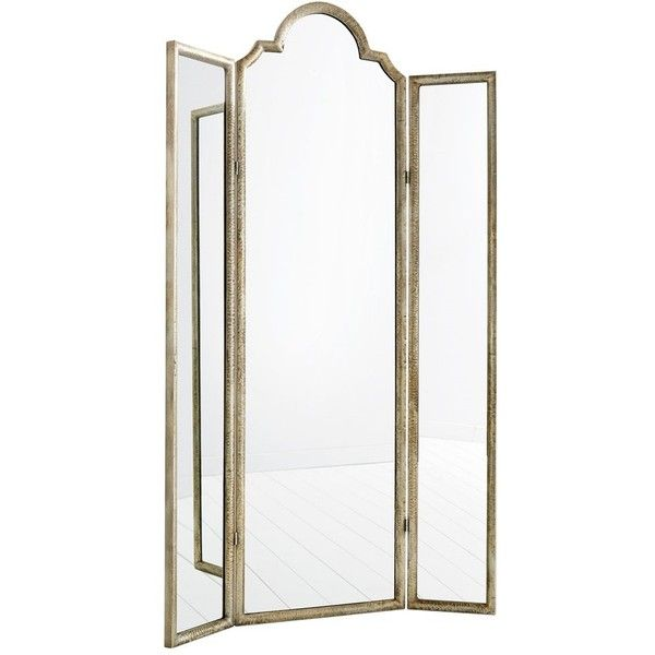 Percy Floor Mirror (1,800 CAD) ❤ Liked On Polyvore Featuring Home, Home  Decor