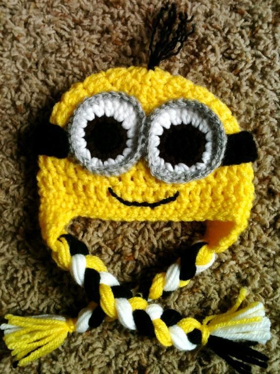 Despicable Me Minion Newborn Pattern by Crafted by MWA | Ideen-Box ...