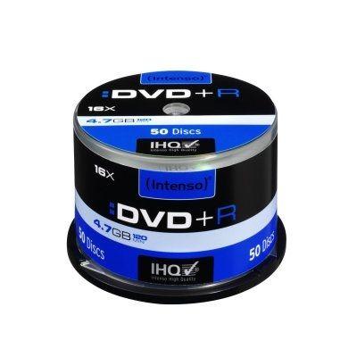 Intenso DVD+R 4.7GB 16x Tubo 50 unidades