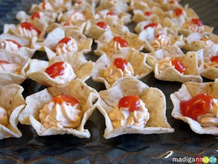 Mini Taco Dip Bites Appetizer Recipes