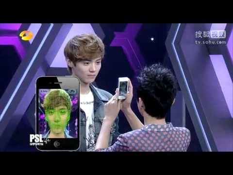 EXO - HAPPY CAMP - Ugly Meter  Poor chen ♥
