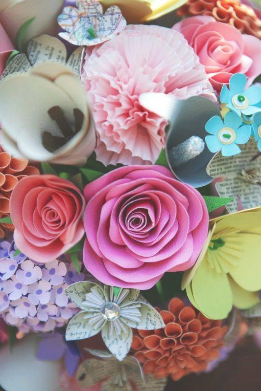 Cardstock paper flower engneforic cardstock paper flower mightylinksfo
