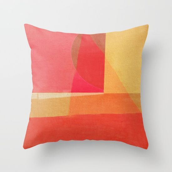 Sailing on a Hot Afternoon Throw Pillow