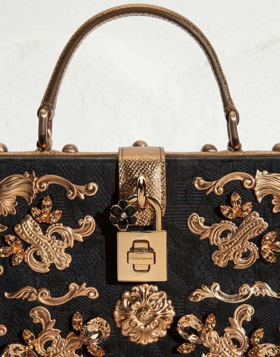 e8bd084799 DOLCE BAG CORRIDA JACQUARD EMBROIDERY - Small fabric bags - Dolce Gabbana - Summer  2015