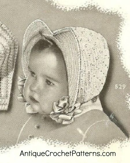 Crochet A Bonny Baby Bonnet With This Free Crochet Pattern For A
