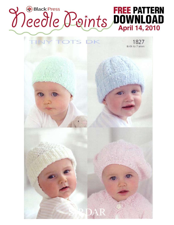 1827 Baby Hats | Pinterest