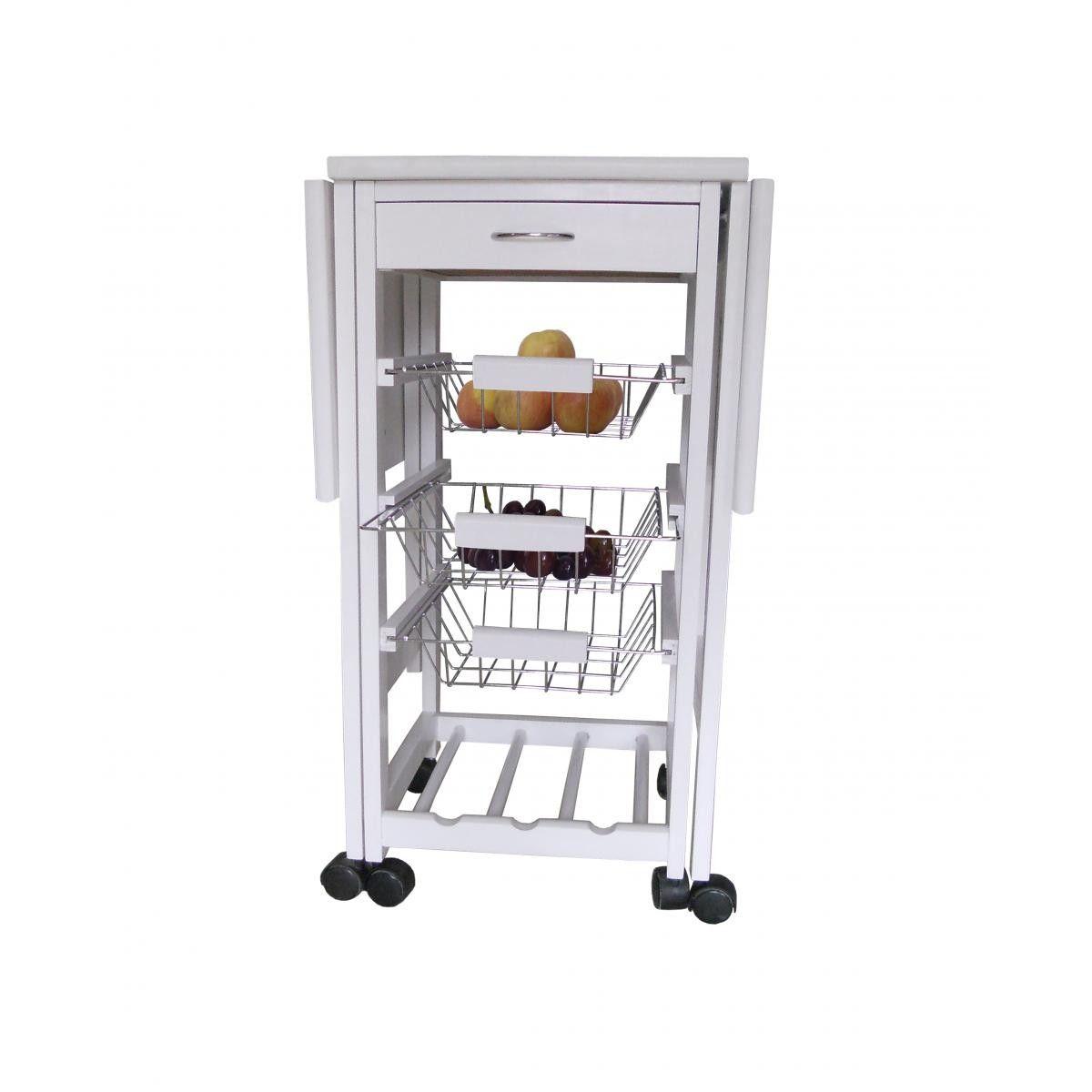 Carrito verdulero sublime en conforama decoracion for Mueble auxiliar cocina conforama