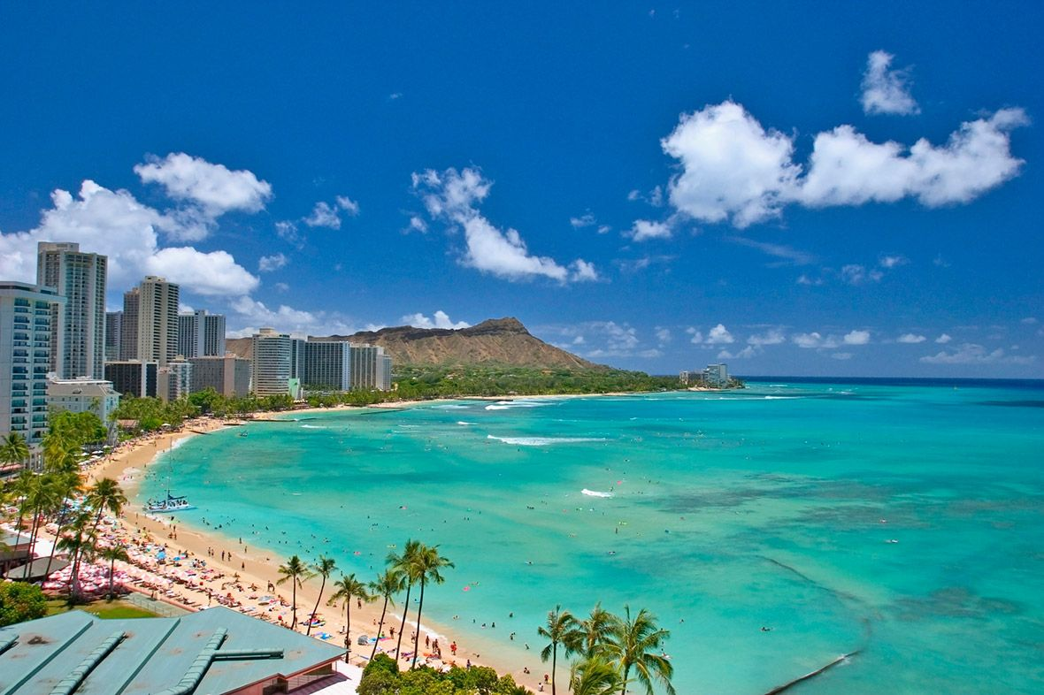 Hawaii S Waikiki Beach The Best Place For Fun In The Sun