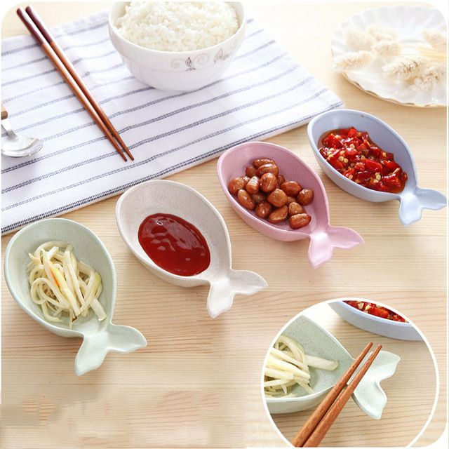 Check current price Fish Shape Soy Sauce Dish Eco-Friendly Practical household goods Wheat Straw Snack Plate Household Sauce Vinegar Dishes just only $2.93 - 7.85 with free shipping worldwide  #dinnerware Plese click on picture to see our special price for you