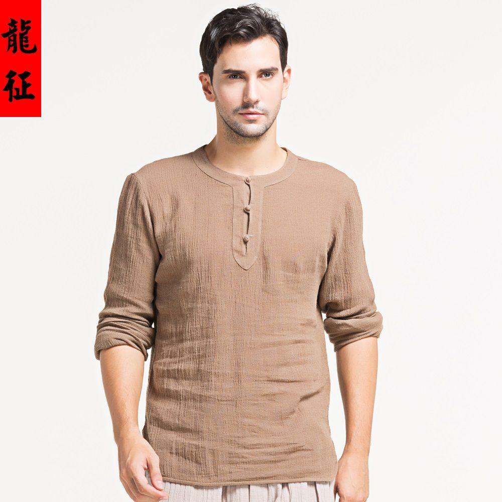 Men/'s Tunic Mandarin Collar Short Kurta Shirt Asian Wedding Party outfit 2018