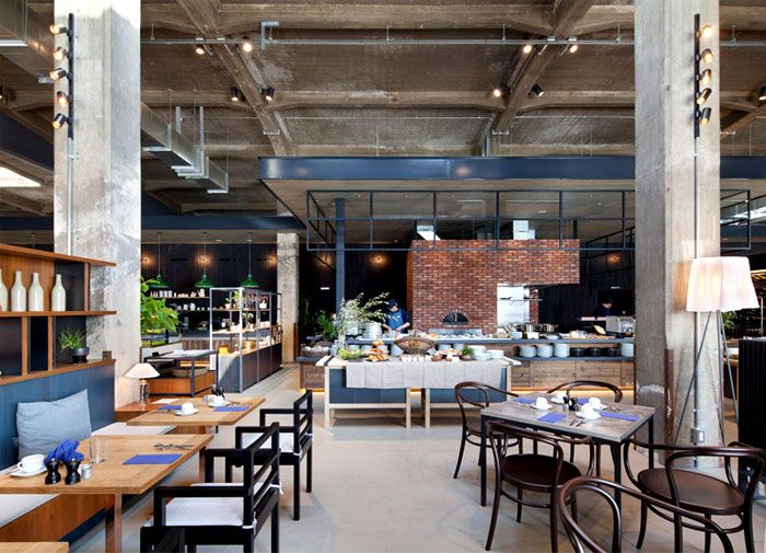 Industrial Style Hotel Cycle in Japan